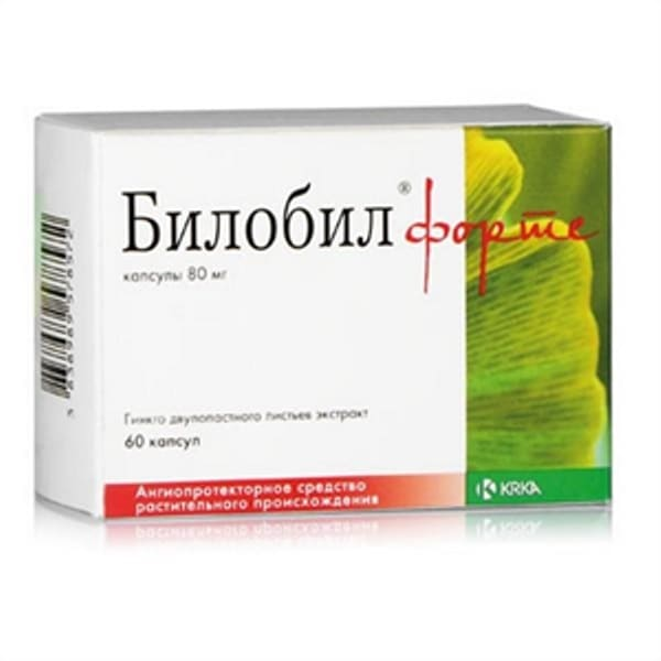 Biloba Forte 80 mg 60 capsules