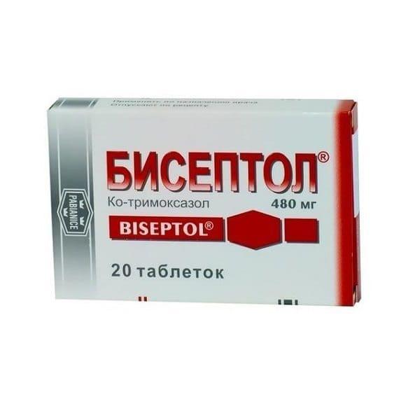 Biseptol 480 mg 28 tablets