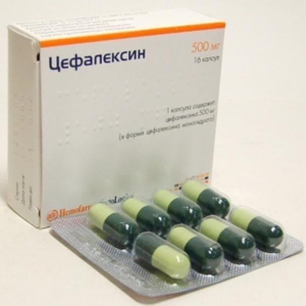Cephalexin 500 mg 16 capsules