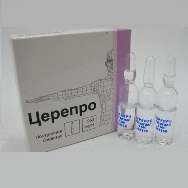 Cerepro 250 ml 3 vials