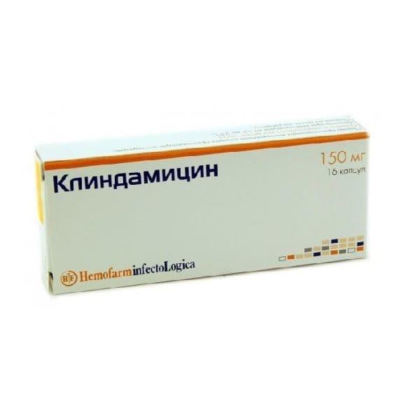Clindamycin 150 mg 16 capsules