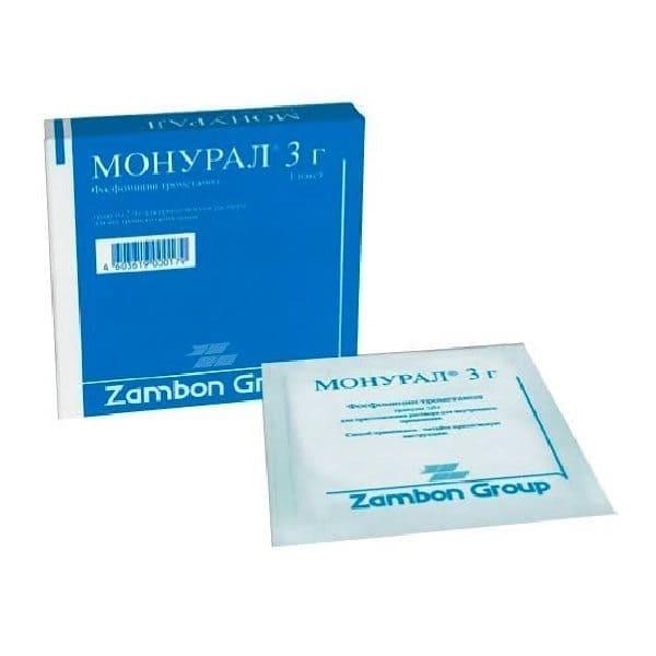 Monurol 3 gr 1 package