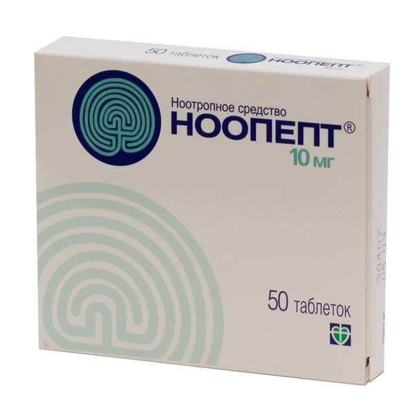 Noopept 10 mg 50 tablets