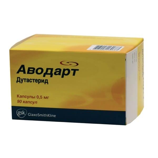 Avodart 0,5 mg 90 capsules