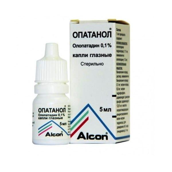 Opatanol 0.1% 5 ml eye drops