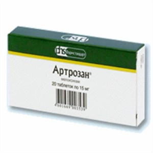 Artrozan_15_mg_20_tablets