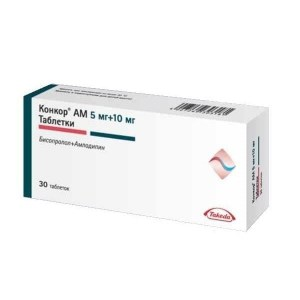 konkor_AM_5_mg_+_10_mg_30_tablets