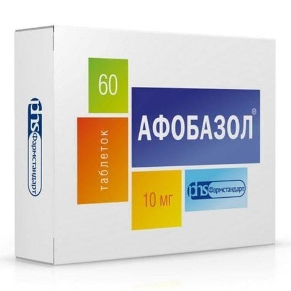 Afobazol 10 mg 60 tablets