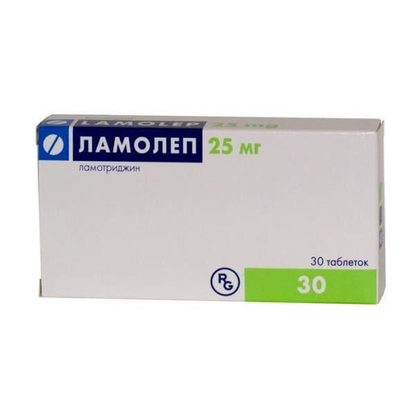 Lamolep 25 mg 30 tablets