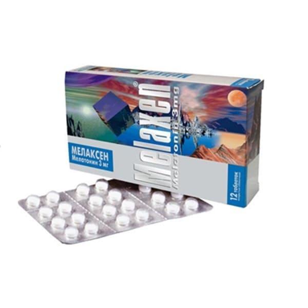 Melaxen 3 mg 12 tablets