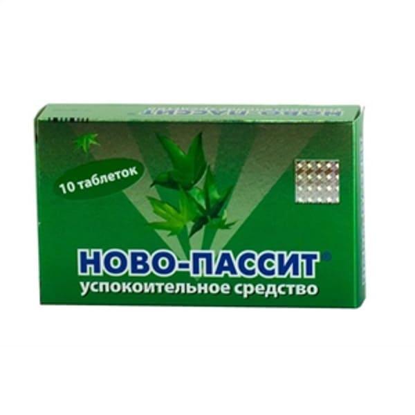 Novo-passit 10 tablets