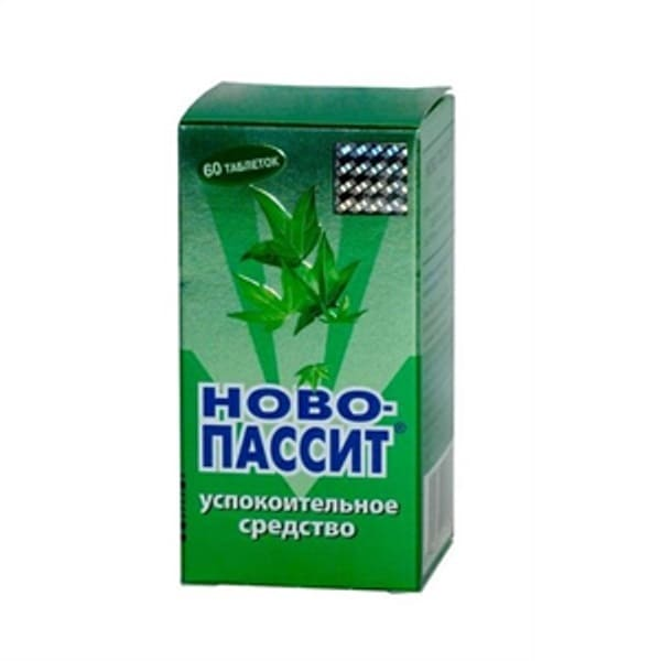 Novo-passit 60 tablets